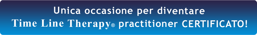 Certificazione Time Line Therapy Practitioner